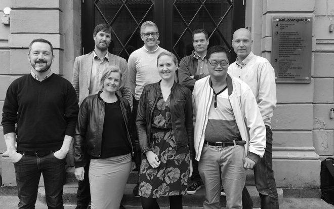 Faggruppen for webanalyse svart hvitt