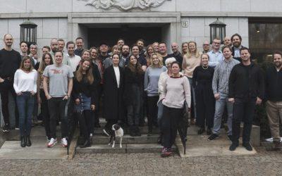 Gjengen i Anorak, som ble Årets Byrå i Sølvtaggen 2016